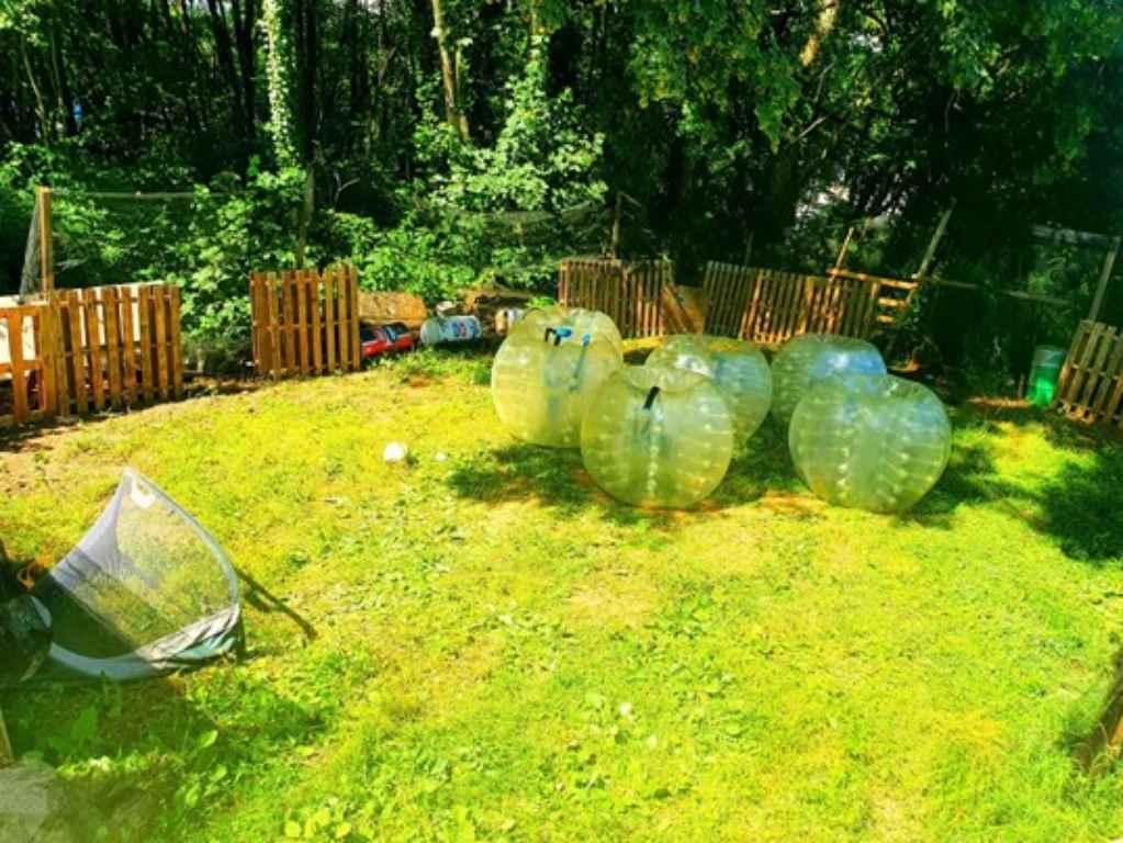 Centre de loisir et de paintball à Limoges : Bubble foot